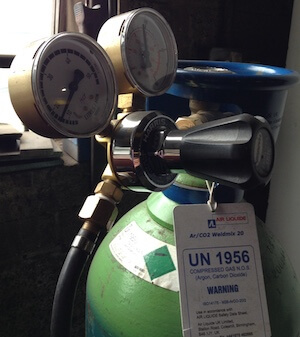 Argon/CO2 Shieding Gas Cylinder