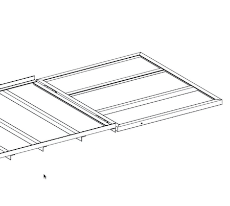 Plan View of Ramp Connection to trailer