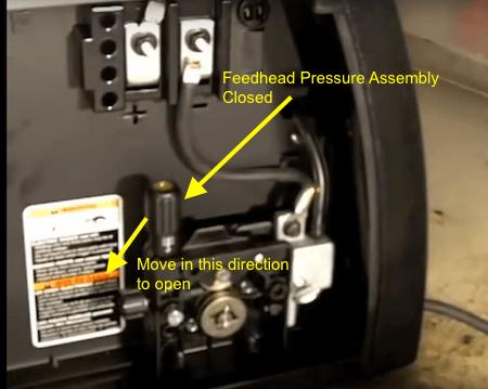 Hobart 140 Feed head Pressure Assemply