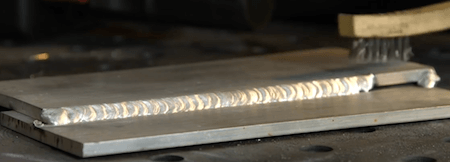 Example of Aluminum Weld
