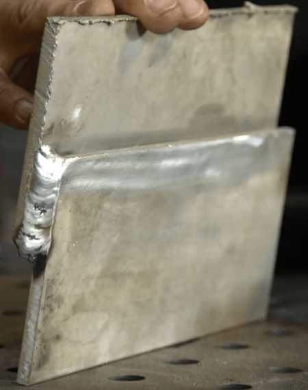 Example of Dirty Aluminum