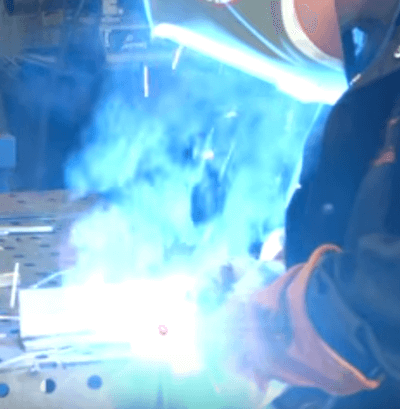 MIG Welding Stainless Steel With Tri Mix