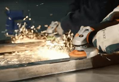 Enduro-Flex Grinding Mild Steel