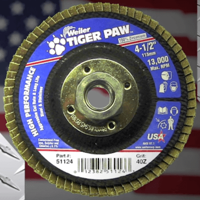 Tiger Paw Flap Disc