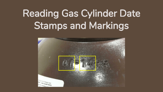 Quick Ways To Read Your Gas Cylinder Date Stamp (And Marks)
