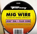 Forney E71TGS Mild Steel Flux Cored Wire