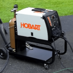 Hobart 140 Cart and Weld Bottle