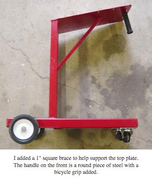 Steve Bedair Welding Cart