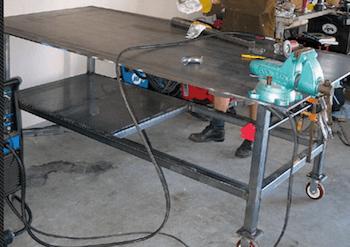 Four wheeler Welding Table