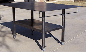 LE 6 by 4 Welding Table