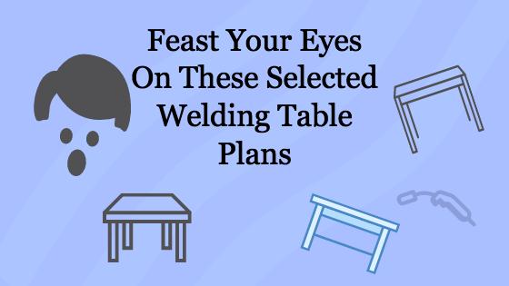 Welding Table Plans Title Image